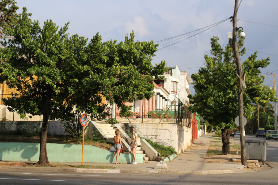 AMY JO DIAZ SHELBY DUNCAN AMANDA SINGLETARY HAVANA CUBA