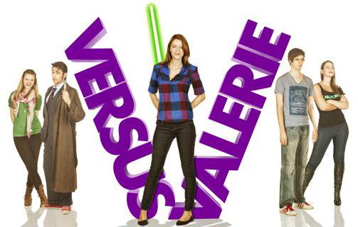 Versus Valerie banner
