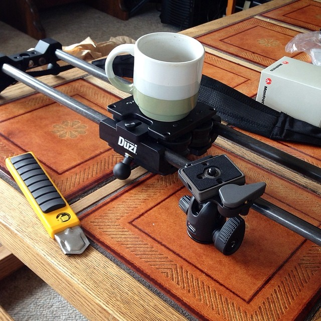 Cinevate Duzi and morning coffee