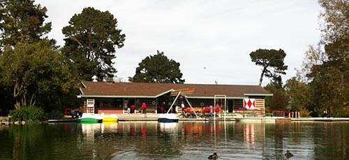 The Stow Lake Boathouse