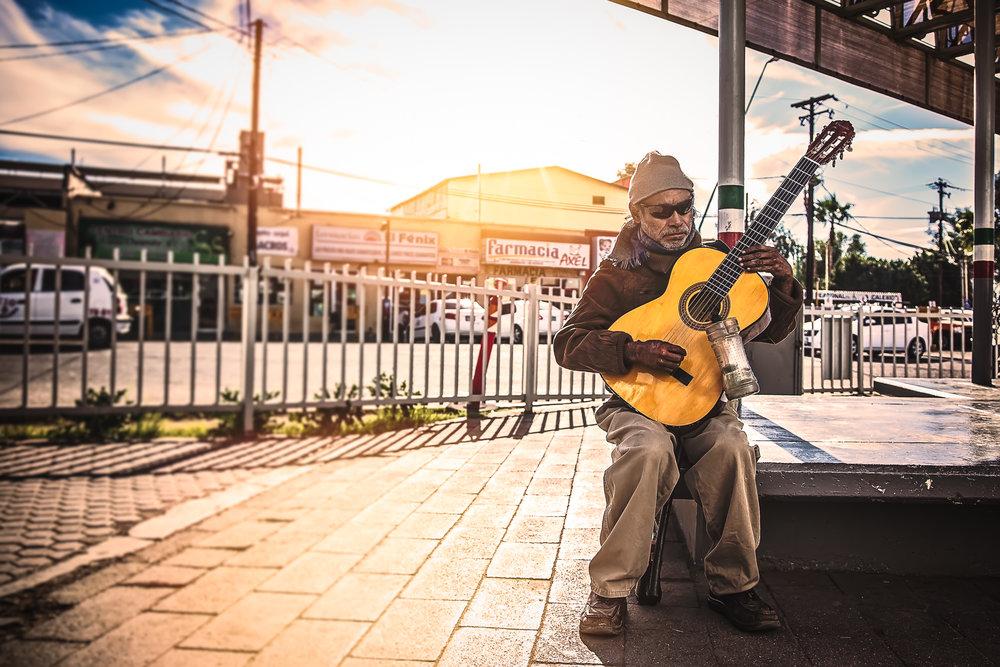 Street Performer, Mexicali, Baja California, Mexico
