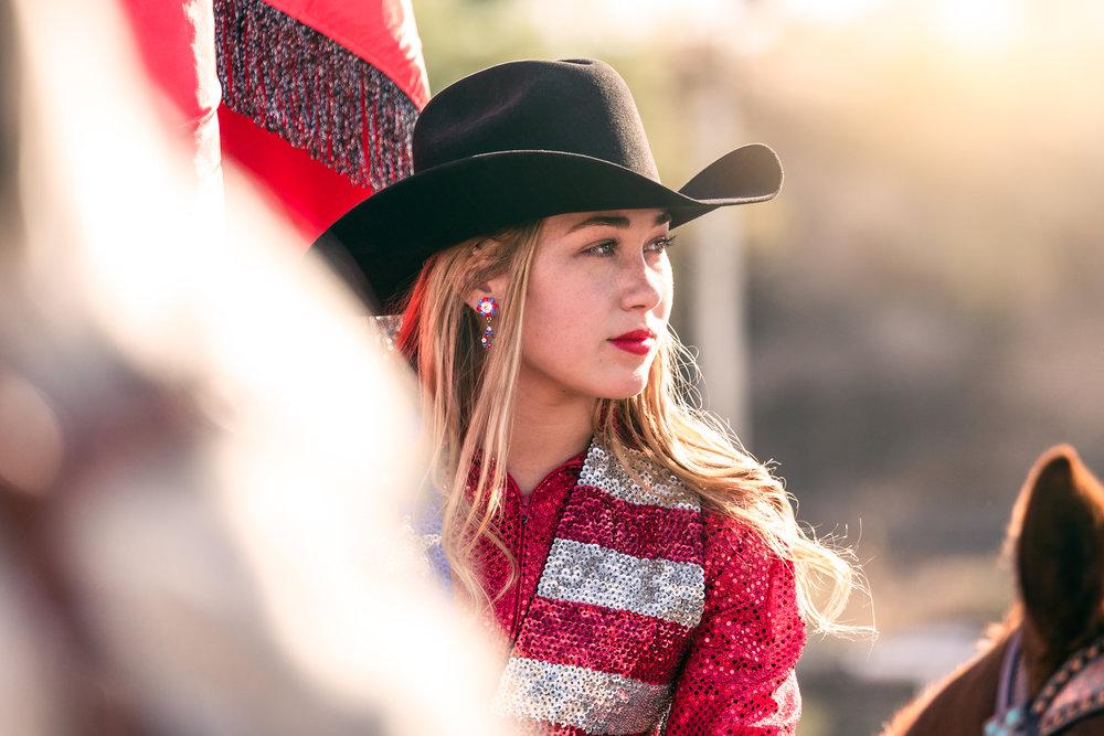 Kamrin, Brawley Rodeo Cowgirl