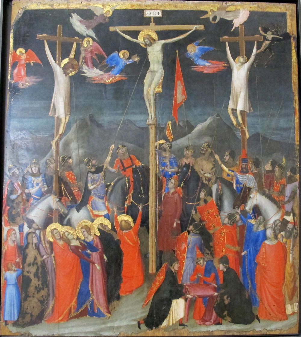 "Giotto, ""The Crucifixion"", c 1330 (Louvre, Paris)"