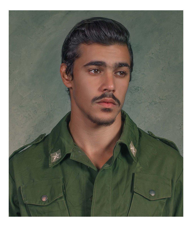 Portrait of Victor Morrow