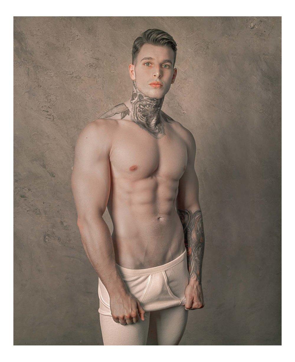 Artistic male nude thumbs