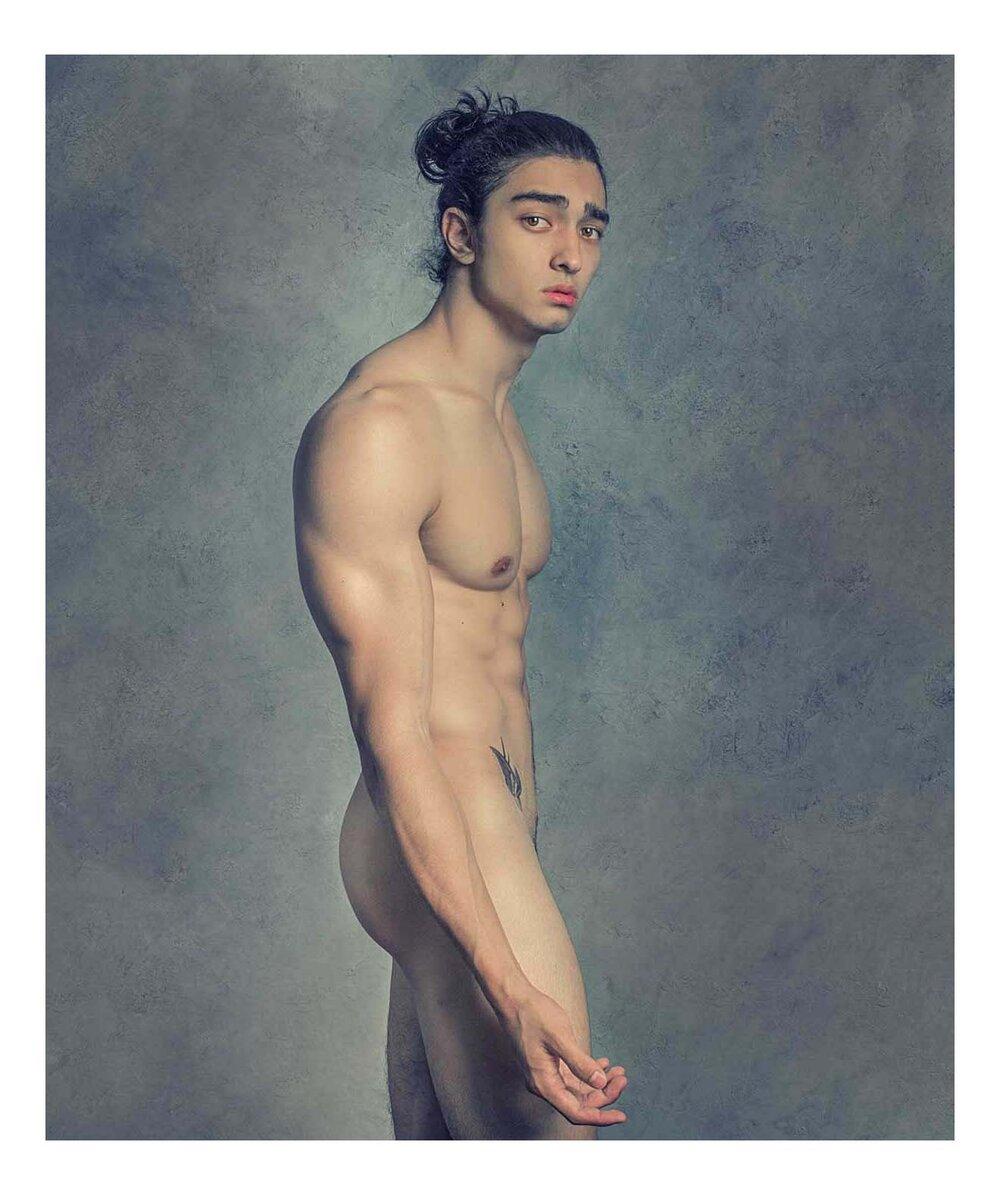Standing Male Nude VI