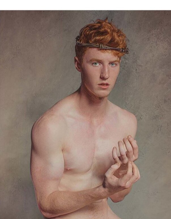 from Jett red hair men nude