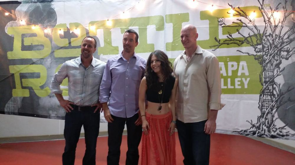 The Brains Behind Latitude 38 Entertainment with Actress Erin Sanders at BottleRock 2014
