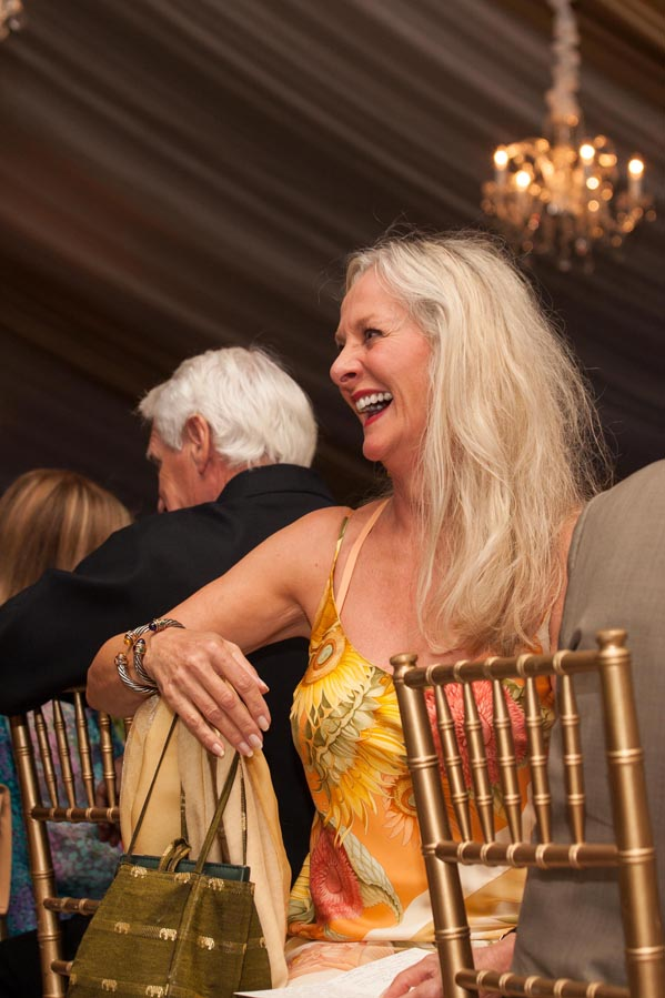 Beth Nickels Having a Good Time at the Event!  Photo Credit: Festival Del Sole