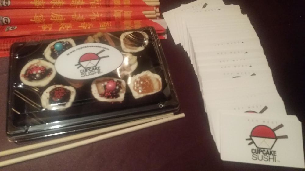 Cupcake Sushi