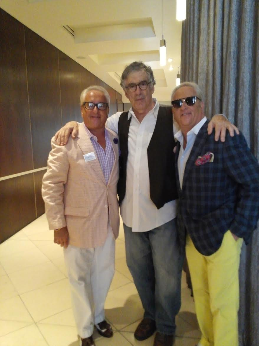 Mark and Matt of WOW! Creations with Elliott Gould