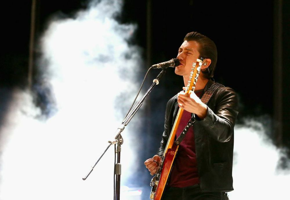 Artic Monkeys' Front Man Alex Turner Serenading the Crowd!  Photo Credit: Powers Imagery