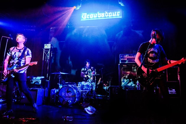 Raw Fabrics Performing at The Troubadour in Los Angeles.    photo credit: Caitlin Helms