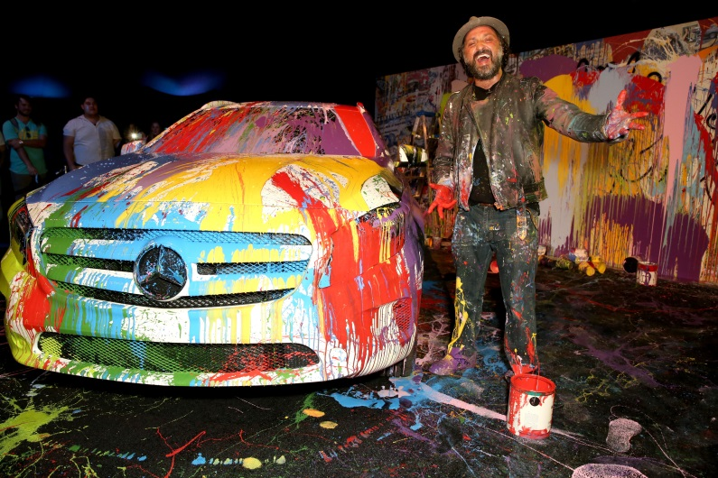 Mr. Brainwash himself!  Photo Credit: Getty Images