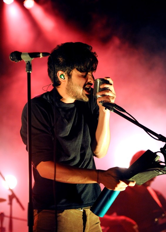 Frontman of Young the Giant, Sameer Gadhia.  Photo Credit: Getty Images