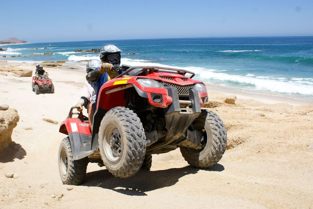 ATV's along the beach! Courtesy Photo