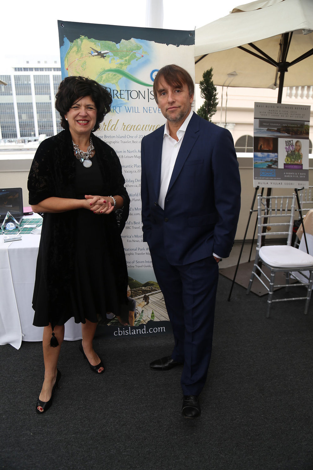 Richard Linklater at the DPA lounge.  Photo Credit: Sky Cheshure