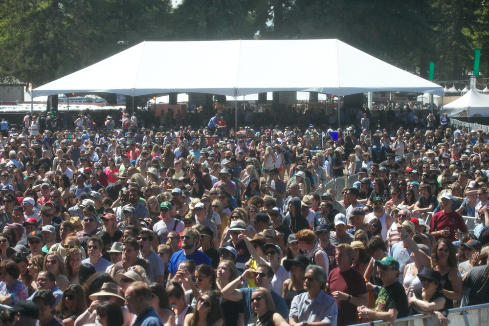 The Raging Crowd at BottleRock! Courtesy Photo