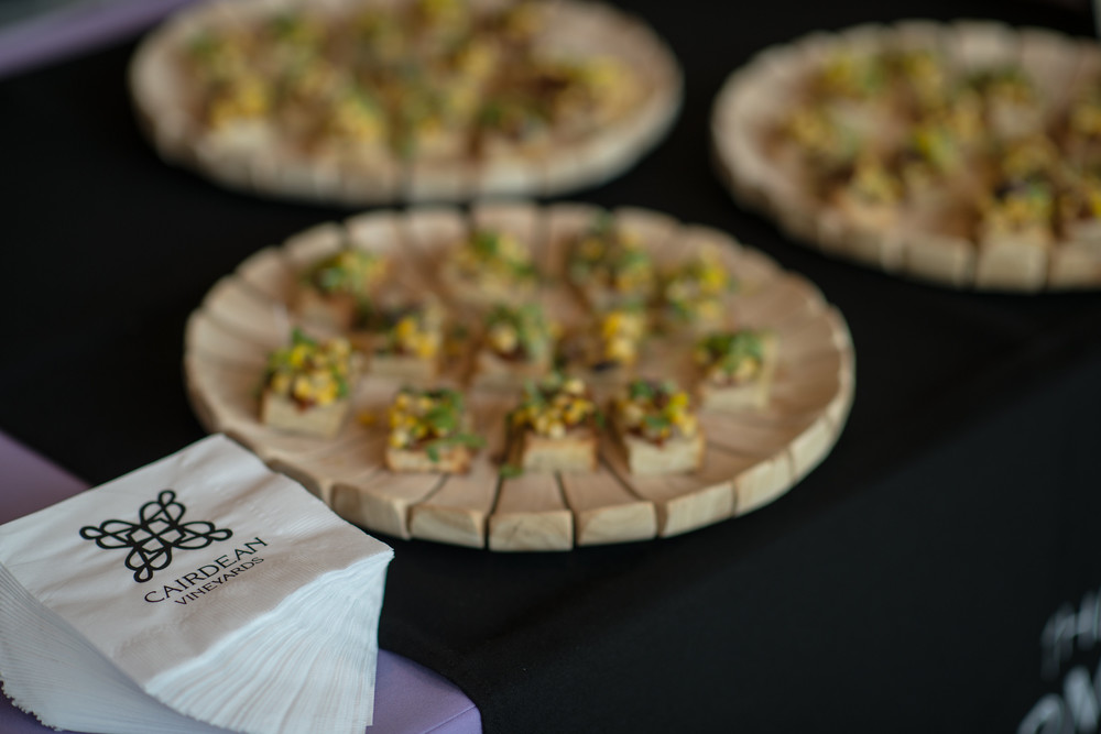 Gourmet Bites at Taste of Napa! Photo Credit: Robert McClenahan