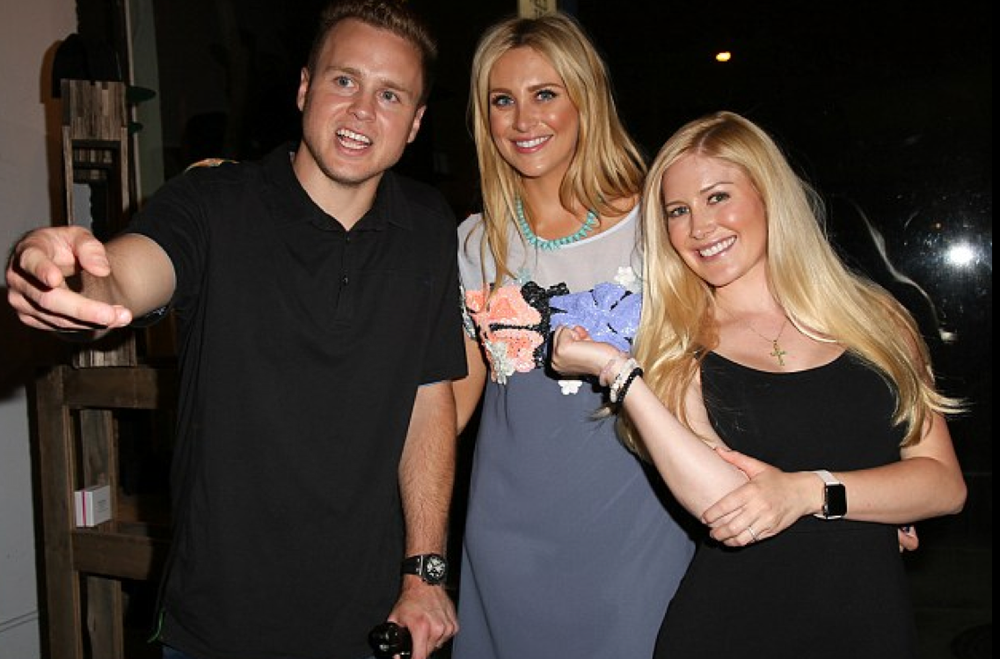 Speidi and Stephanie Pratt at the MeMe London US launch party at DiLAsica.  Courtesy Photo