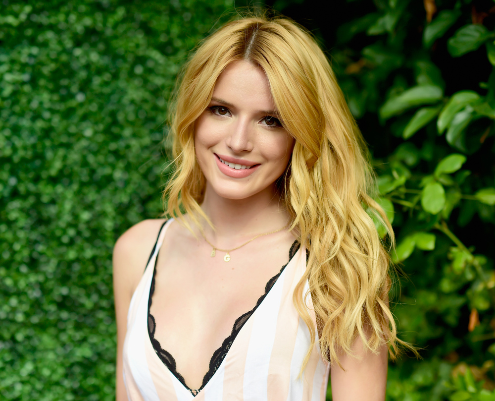 Bella Thorne Looks Casually Chic For The Wildfox Fragrance Launch Party.  Frazer Harrison, Getty Images