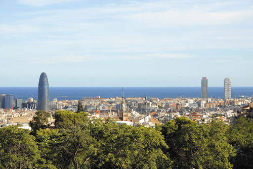 Panoramic View of Barcelona! Photo Credit: Turisme de Barcelona