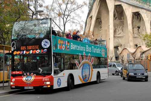 Barcelona Bus Turistic. Photo Credit: Turisme de Barcelona