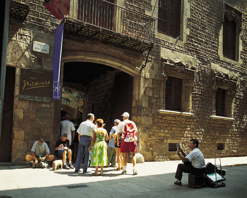 The Picasso Museum. Photo Credit: Turisme de Barcelona
