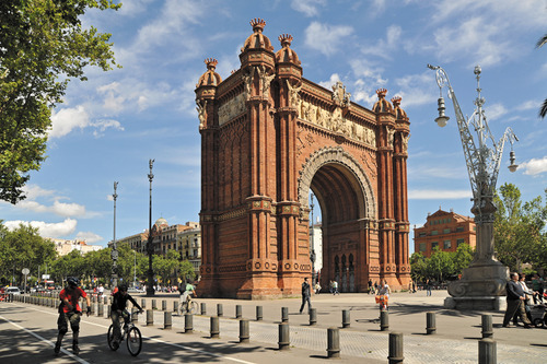 Arc de Triomf. Photo Credit: Turisme de Barcelona