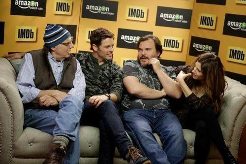 Jeffrey Tambor, James Marsden, Jack Black, and Kathryn Hahn made a pit stop! Photo Credit: Isaac Brekken