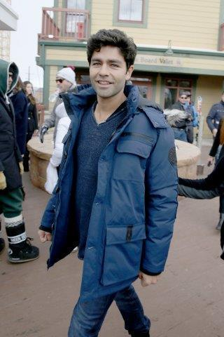 Adrian Grenier stopped by Village at the lift! Photo Credit: Isaac Brekken