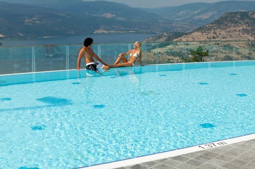 The Heated Pool Has Outstanding Views of The Mountains and is Heated to 84 Degrees Year Round. Courtesy Photo