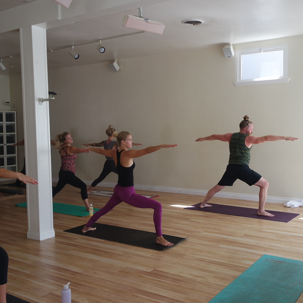 Guests Enjoyed a Yoga Class Taught by Anne Spinner at The Green Yogi! Courtesy Photo