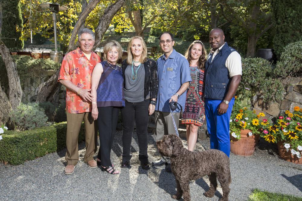The Staglins with Grammy-Winner Melissa Etheridge! Courtesy Photo