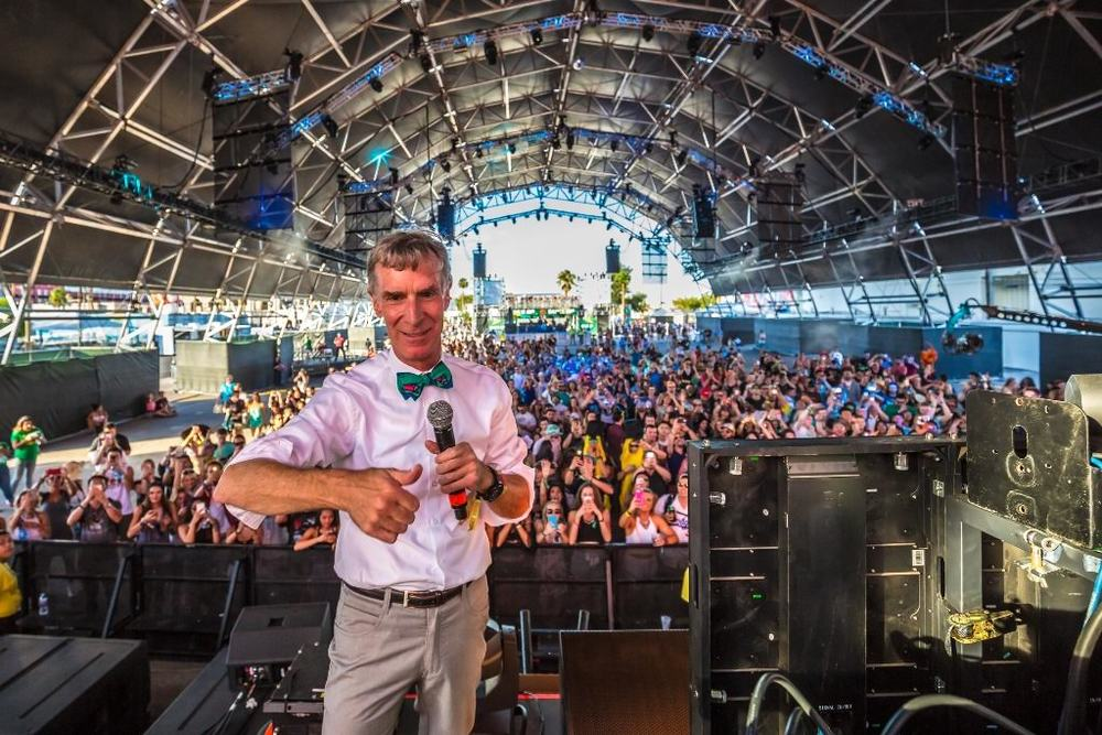 Bill Nye THE Science Guy Held it Down at LIB! Photo Credit: Film Magic for Life is Beautiful