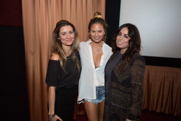 Jennifer Laura, Chrissy Teigen, and Elizabeth Castellanos Speak at the International Style Institute at The Grove! Photo Credit: Bryan Beasley