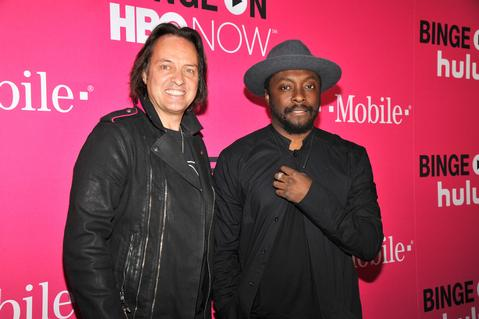 CEO of T-Mobile and WILL.I.AM! Courtesy Photo