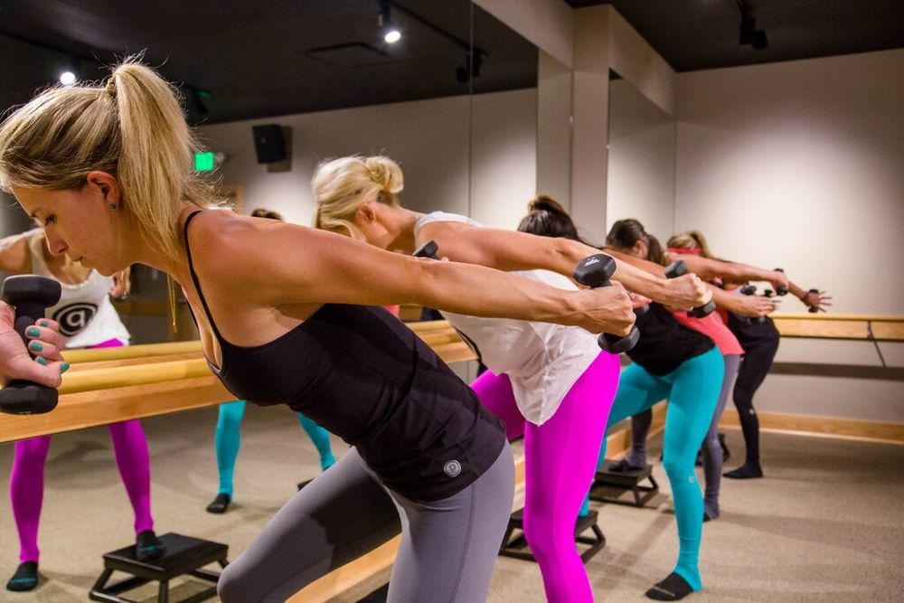 Pure Barre Platform Gives You a Total Body Workout! Courtesy Photo