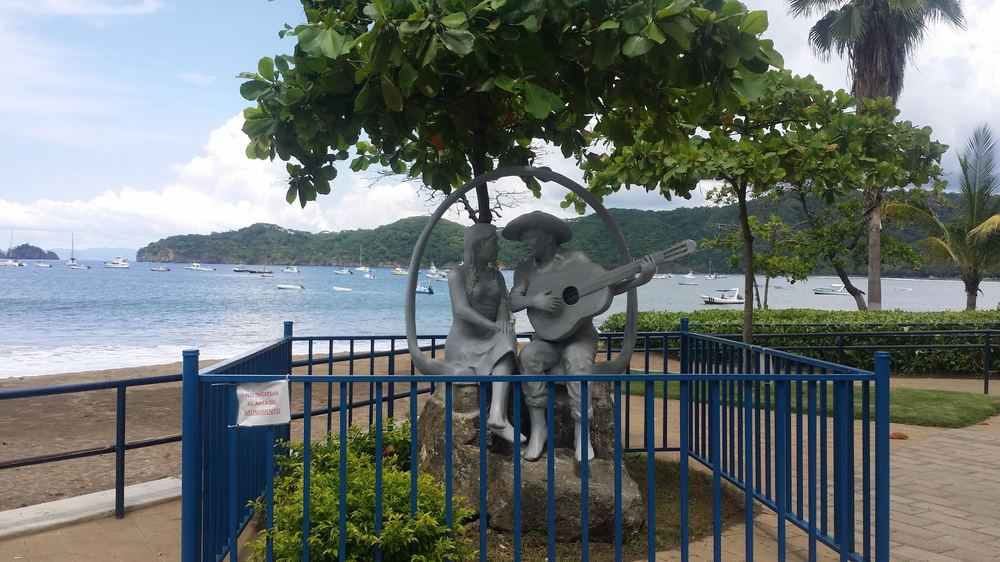 Local art along Coco Beach!