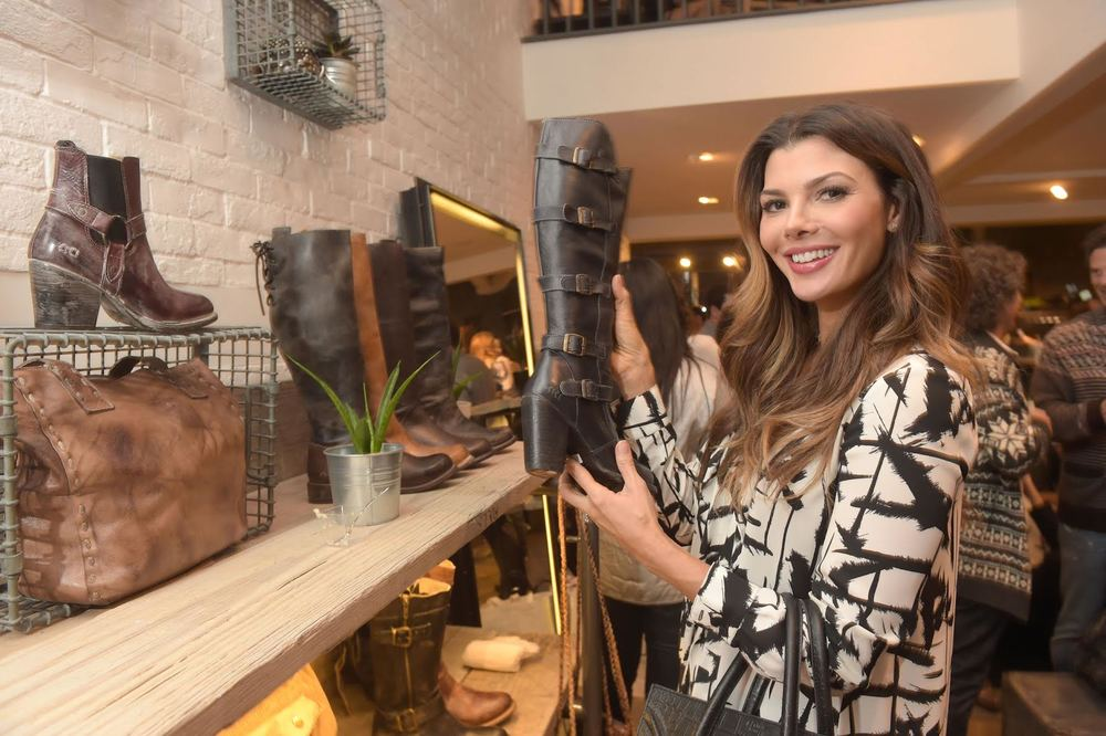 Ali Larter Checking out the Latest Collection! Courtesy Photo