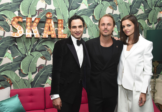 Katie Holmes and   Absolut Elyx CEO Jonas Tahlin   hosted an intimate celebration honoring WWD and Variety Stylemakers Designer of the year, Zac Posen, at the   Elyx House LA   on Thursday, November 19th, 2015.    Photo Credit: Vivien Killilea/WireImage
