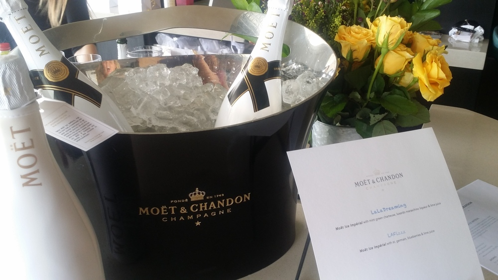 Delicious Bubbly Provided by Moët & Chandon.