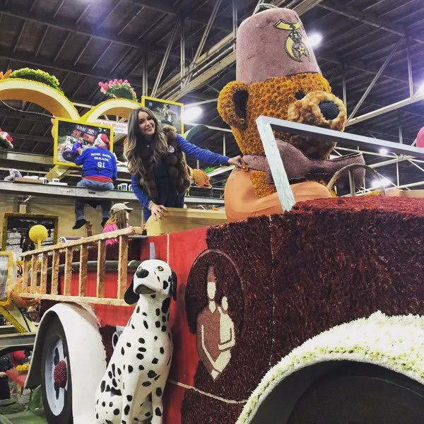 Celebs Gathered at Shriners Hospital for Children in LA to Decorate Floats for the Rose Parade! Courtesy Photo