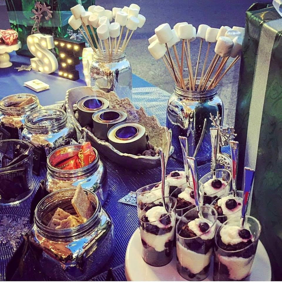YUM! Guests Enjoyed This Delicious Dessert Bar by Smoked Fusion Catering. Courtesy Photo
