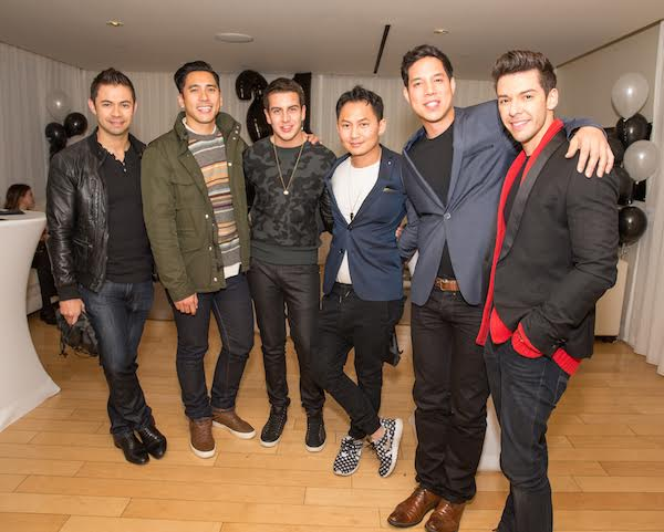 Ivan Estrada, David Cruz, Sean Scott, Kyle Chan, Peter Luis Venero, & Geo Louis Photo Credit: Inae Bloom/Guest of a Guest