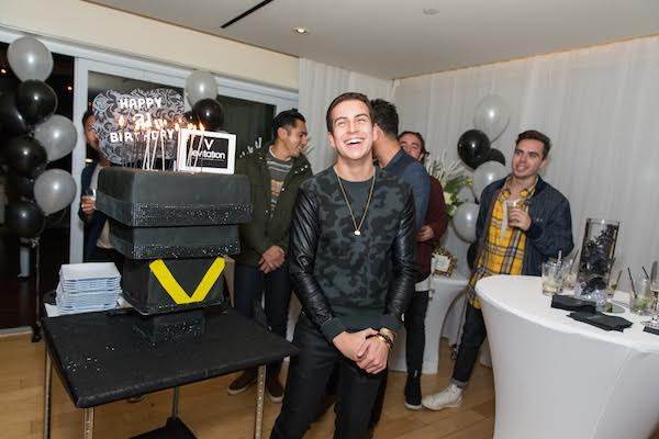 Happy Birthday Sean Scott -- Cake by K&K Cakes by Romina! Photo Credit: Inae Bloom/Guest of a Guest