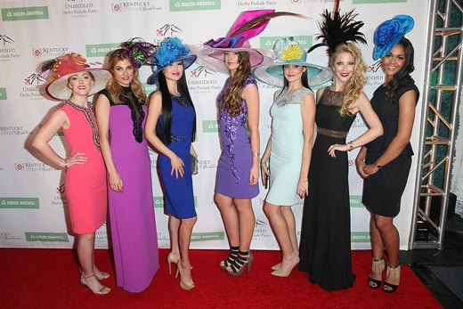 Costumed models at the event! Photo Credit:  Getty Images for York Sisters LL