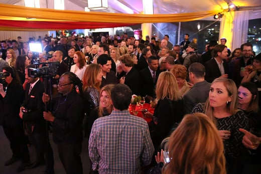 A general view of atmosphere at the 2016 Unbridled Eve Derby Prelude Party at The London Hotel on January 7, 2016 in West Hollywood, California. Photo Credit: Joe Scarnici/Getty Images for York Sisters LLC