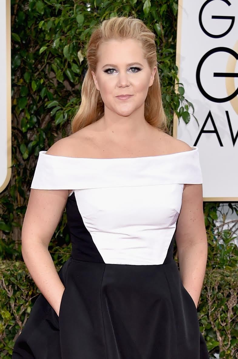 Amy Schumer looked stunning at the 2016 Golden Globe Awards with textured natural waves styled by Kim Gueldner using Matrix StyleLink. Photo Credit: John Shearer