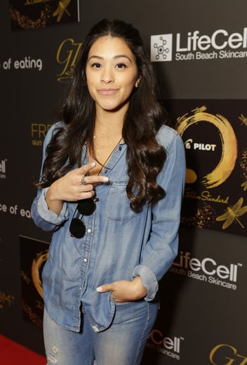 Actress Gina Rodriguez Kicks Off Her Golden Globe Weekend by Attending the GBK Gifting Suites! Photo Credit: Tiffany Rose/Getty Images for GBK Productions